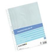 Prospekthüllen A4, Standard, oben offen, transparent/genarbt, 40my, 100 Stk.