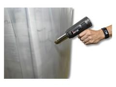 Schrumpfhaube Palettenhaube 1300+1100x1600mm, transparent, 100my