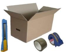 Umzugskarton-Vorteils-SET Home&Office Classic, 33 tlg.