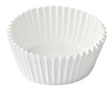 Gebäckkapseln weiß Ø 55 x 30 mm, 1000 Stk.