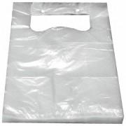 Knotenbeutel für 5 kg HDPE transparent, 455 x 240 mm, geblockt, 100 Stk.