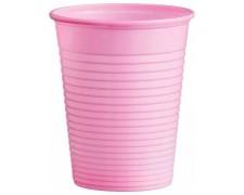 Trinkbecher Partybecher rosa 180 ml, aus PS, Ø 70 mm, 50 Stk.