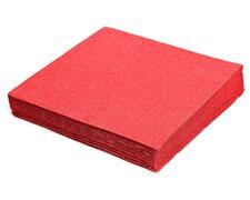 Servietten 33 x 33 cm 1/4 -Falz, 2-lagig rot,  50 Stk.
