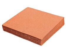 Servietten 33 x 33 cm 1/4 -Falz, 2-lagig apricot,  50 Stk.