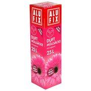 Alufix Duft Müllsäcke Mit Zugband 40 L 53x60cm Feiner Blütenzauber 12 Stk