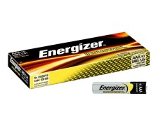 Energizer Industrial Batterien LR03/AAA Micro | 1,5 Volt Spannung, 10 Stk.
