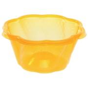 BIO Eisbecher aus Mais-Biokunststoff (PLA), orange, 300ml, 50 Stk.