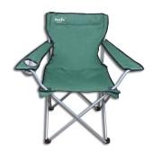 Komfortabler Campingstuhl Klappsessel grün bis 100kg inkl Tasche 85x89x50cm