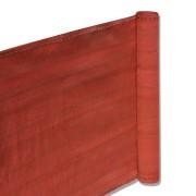 Balkon Terrassen Sichtschutz 90cm x 5m terracotta wetterfest UV Schutz langlebig