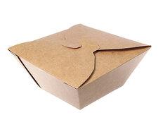 Menübox Lunch-Box, 1000 ml, Green by Nature, 170x170x70 mm, 50 Stk.