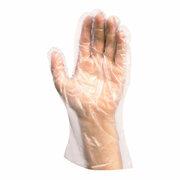 PE-Einweghandschuhe für Herren, transparent, 100 Stk.