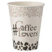Kaffeebecher CoffeeToGo Pappbecher Design COFFEE LOVERS 300ml, 50 Stk.