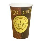 Kaffeebecher Coffee ToGo COFFEE DREAMS Pappe beschichtet 12oz. 300 ml  50 Stk.