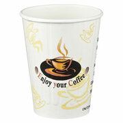 Kaffeebecher Doppelwand geriffelt ENJOY YOUR COFFEE 200 ml  50 Stk.