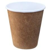 Heiß- und Kaltgetränkebecher aus Kraftpapier beschichtet 250 ml/300 ml 50 Stk.