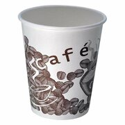 Kaffeebecher CofeToGo Pappbecher NEW COFFEE 8oz 200 ml, 50 Stk.