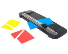 PAVO Schneidelineal für A4 bis max. 8 Blatt