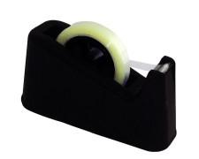 Pavo Tischabroller für 12, 16, 19 und 25mm Klebefilm mit 25+76mm Kern, schwarz