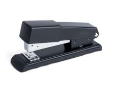 PAVO Heftgerät, Klammermaschine, Hefter für 20 Blatt, aus Metall, schwarz