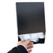 Handschuhspender aus Metall für Outdoor + Indoor für geblockte Einweghandschuhe