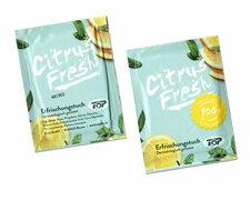 Erfrischungstücher Citrustücher, feucht, einzeln verpackt, 250 stk