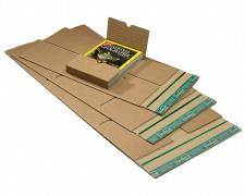 Universalverpackung B05.02 mit zentraler Packgutaufnahme 250x190x 1-85mm, für B5