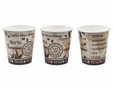 Kaffeebecher Getränkebecher Coffee Mountain 180 ml,  80 Stk.