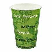 BIO Automatenbecher Kaffeebecher Pappbecher 70,3mm Ø  Bio Green 150 ml 100 Stk.