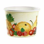 Eisbecher, Pappe rund 580 ml Ø 110mm, Höhe 84mm, Fruchtreigen, 100 Stk.