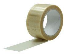 1-PACK Packband Klebeband PVC-200, 50mmx66m, Low Noise, transparent