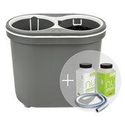 Spülboy NU water+ portable Tragbarer Geschirrspüler Vorteilsset + Reinigersset