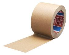TESA Papierklebeband 4713 mit Naturkautschukkleber  75mm x  50m, braun
