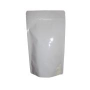 Standbodenbeutel PET weiß glänzend 110x185x65mm, 250ml, 1000 Stk.