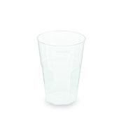 Mehrwegbecher Pfandbecher Cocktail PP klar Eichstrich 0,2 l  Ø 7 cm,  25 Stk.