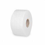 Toilettenpapier mit Perforation Tissue 2-lagig Ø18cm 100m Klopapier weiß 12 Stk.