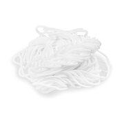 Elastische Kordel Elastikband zur Mundschutzmaskenherstellung weiss Ø 2 mm 10m