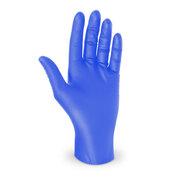 Nitril Einweghandschuhe puderfrei extrem reißfest blau Gr. M, 100 Stk.