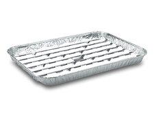 Alu-Grillpfanne Grillschalen BBQ, 34.4 x 22.4cm, mehrfach verwendbar,   5 Stk.