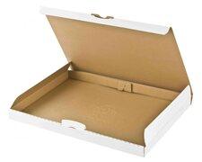 Maxibriefkarton DHL briefkastentauglich Höhe 3cm 255x190x30mm Din A5/B5 weiß