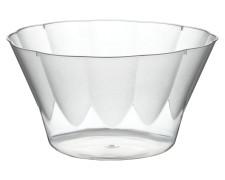 Eisbecher PS rund 300 ml Ø 11,1 cm | Höhe 6 cm glasklar ROYAL  70 Stk.