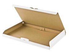 Großbriefkarton Maxibriefkarton DHL Höhe 2cm 340x250x20mm DIN A4/B4 weiß