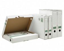 ARCHIV-ABLAGEBOX zum Aufbewahren von Ordnerinhalten, Listen.. 265x75x324mm, weiß