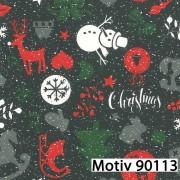 Weihnachtsgeschenkpapier 70 cm x 200 m | Motiv 90113