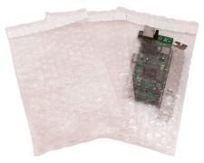 Adhäsionsverschlussbeutel aus Luftpolsterfolie antistatisch 240x160mm, 1000 Stk.