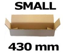 Faltkarton Versandhülsen  430x105x105mm sehr stabil, 2wellig