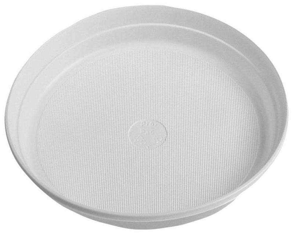 Mikrowelle Teller teller, einweg-mikrowellenteller weiß (pp) Ø 22 cm, 10 stk.