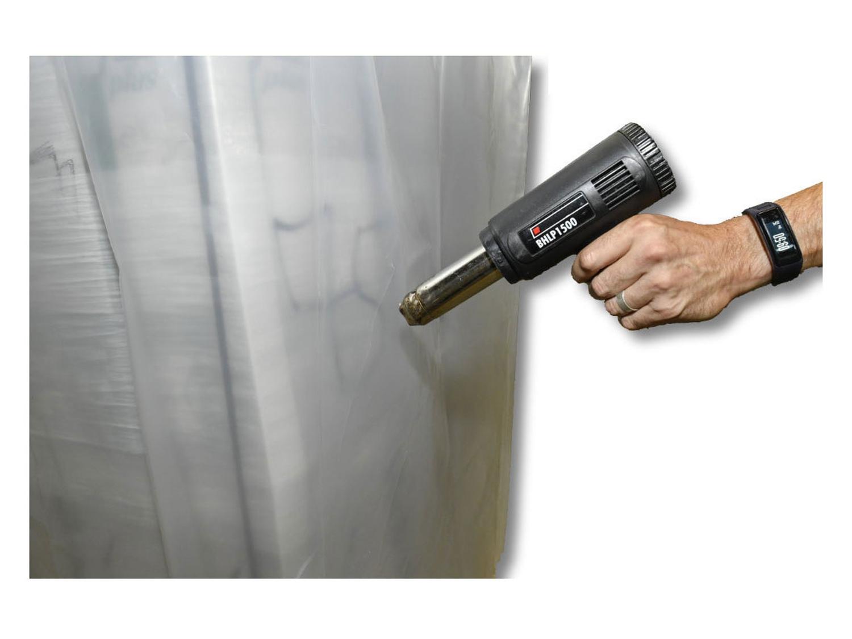 Schrumpfhaube Palettenhaube 1250+ 850x1800mm, transparent, 125my