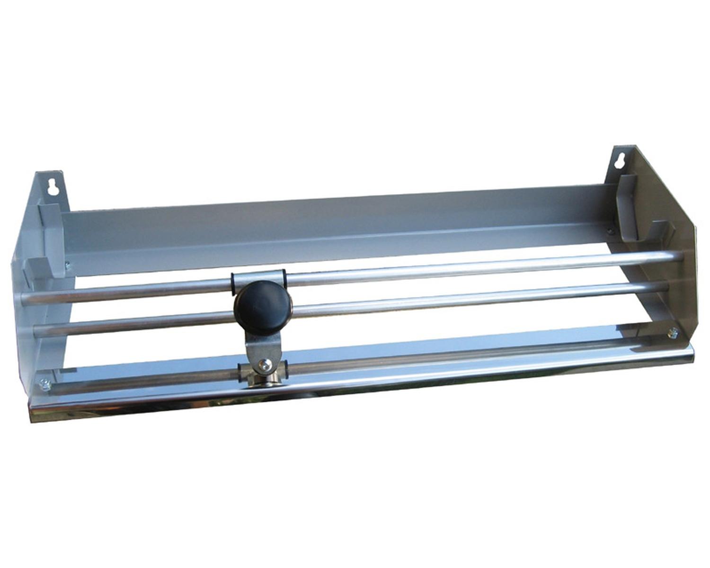 Sicherheits-Folienabrollgerät mit rotierendem Schneidkopf, für 45cm breite Folie