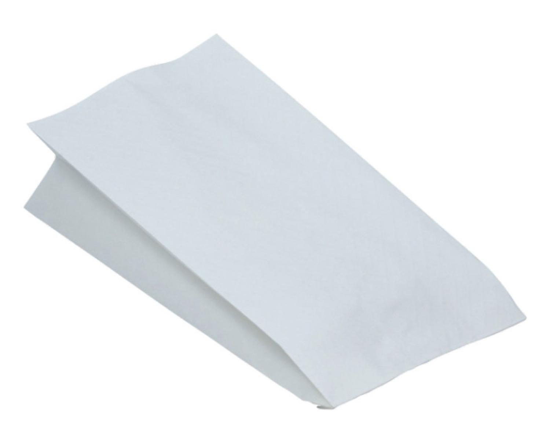 Fleischerbeutel, weiß, 22,5 x 12 x 5 cm, aus Kraftpapier, 1000 Stk.