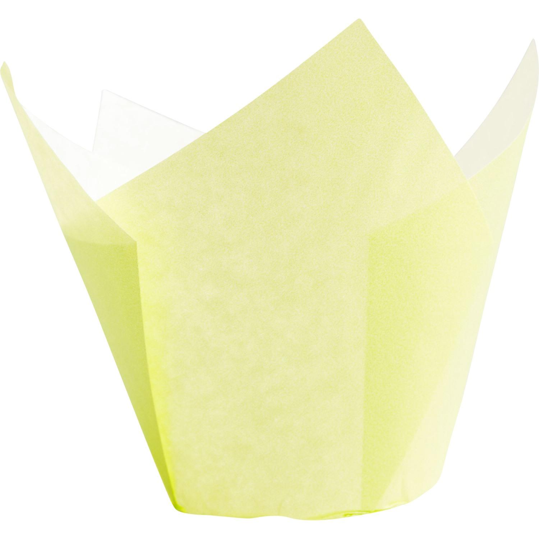 Muffin-Tulip-Wraps, gelb, 160x160 mm, 200 Stk.